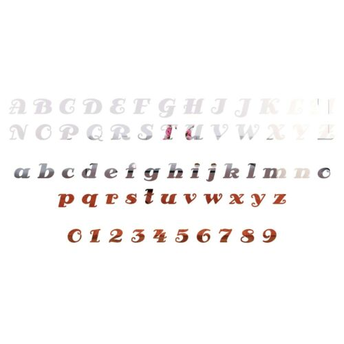100mm 5cm-10cm Letters Numbers Acrylic House Door Signs Plaques 50mm 046 AP