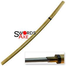 Sugoi Steel Reverse Blade Shikomizue Koshirae Forged 1060 Damascus Steel Katana
