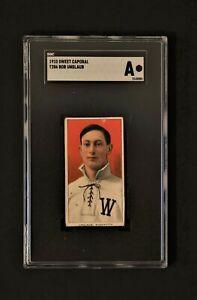 1910 Sweet Caporal T206 Bob Unglaub SGC Authentic
