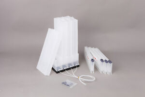 Ink pouch stand + Floater cartridge bulk ink system for MIMAKI, Roland and Mutoh