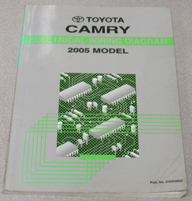 2005 Toyota Camry Electrical Wiring Diagram Service Manual