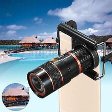 8x Zoom Optical Lens Telescope+universal holder For Camera Mobile Phone Samsung