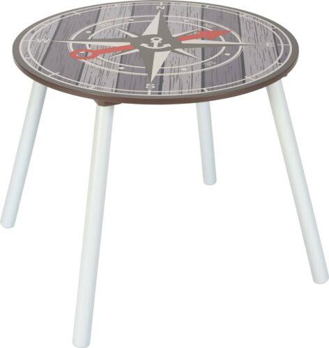Kindermöbel Garnitur Kinder-Sitzgruppe Tisch mit Stühlen und Truhenbank PIRATE