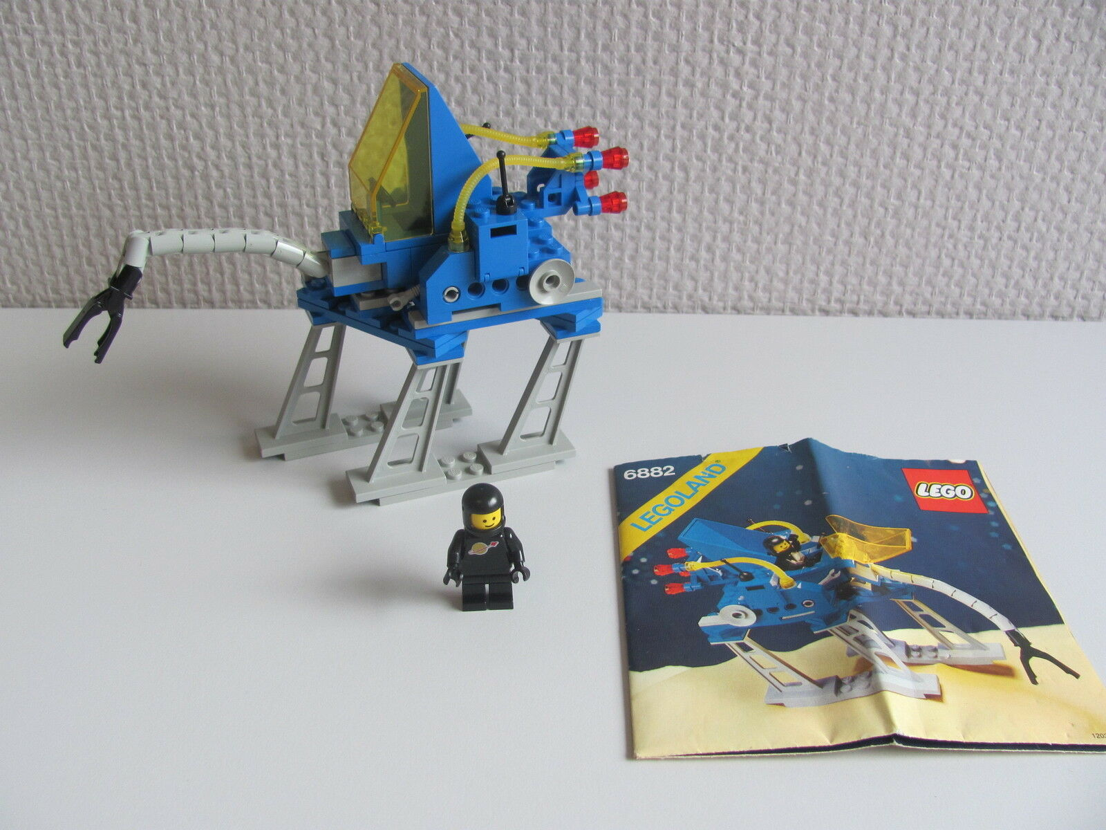 LEGO 6882 @@ WALKING ASTRO GRAPPLER @@ @@ @@ LEGOLAND SPACE @@ COMPLET   INSTRUCTION a85c08