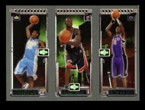 2003-04-Topps-Matrix-Dwyane-Wade-Carmelo-Anthony-Chris-Bosh-Trios-Rookie-RC-HOF