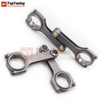 H-beam Steel Connecting Rod For Ford Lotus Twin Cam 1600 Narrow Journal 122.58mm
