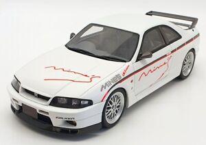 Otto-Models-1-18-Scale-OT824UVI-Nissan-Skyline-GTR-R33-034-Mine-039-s-034-White