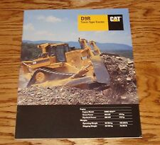 Original 2000 Caterpillar D9R Track-Type Tractor Sales Brochure 00 Cat