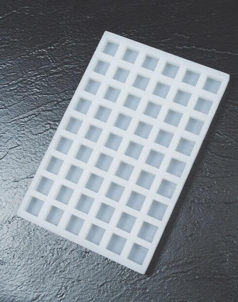 Pavoni Silicone chocoflex Moule pour ganache et chocolat, carré, 54 cavités