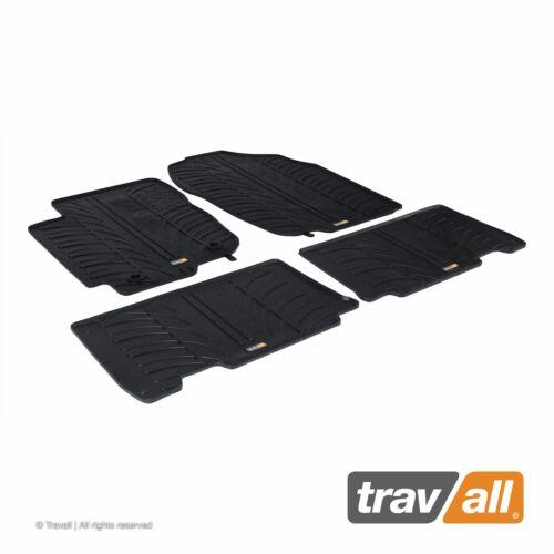 Travall Gummifußmatten Automatten passgenau für Toyota RAV4 2012-2018
