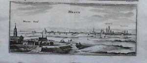 Acheter Pas Cher Merian, Panorama Meaux, 1657 Style à La Mode;