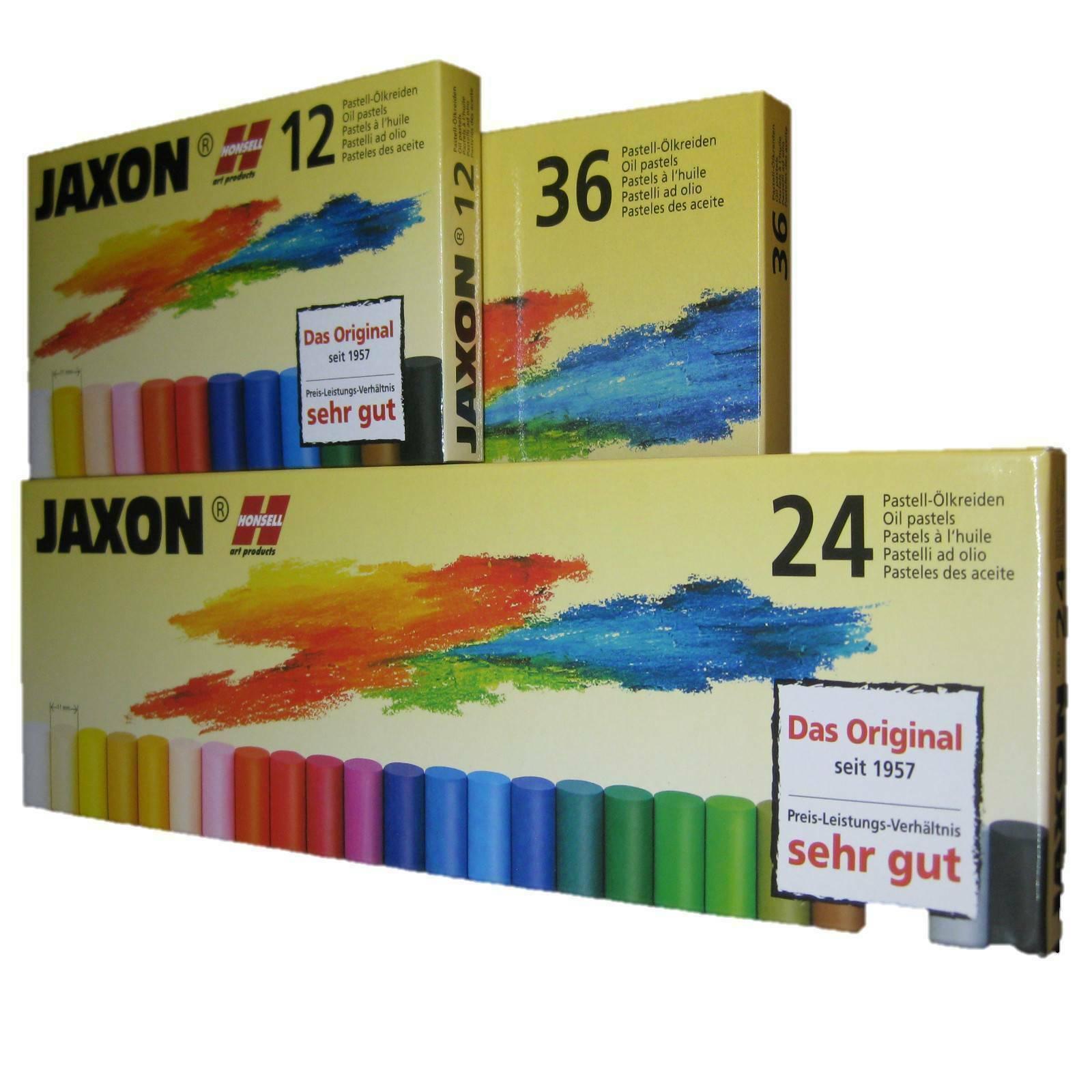 JAXON by Honsell Kreide Ölpastellkreide 12er Set 47460 NEU