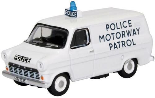 OXFORD DIECAST 76FT1007 1:76 OO SCALE Ford Transit Mk1 Police Motorway Patrol
