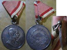 1. WK KuK große Tapferkeitsmedaille Silber A Orden