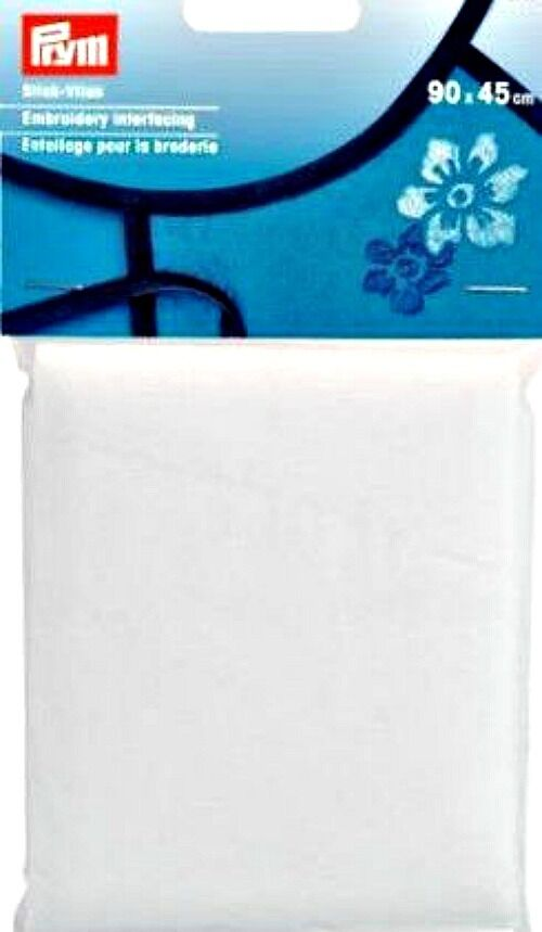 Prym 90cm x 45cm Water-Soluble Creative Interfacing 968195