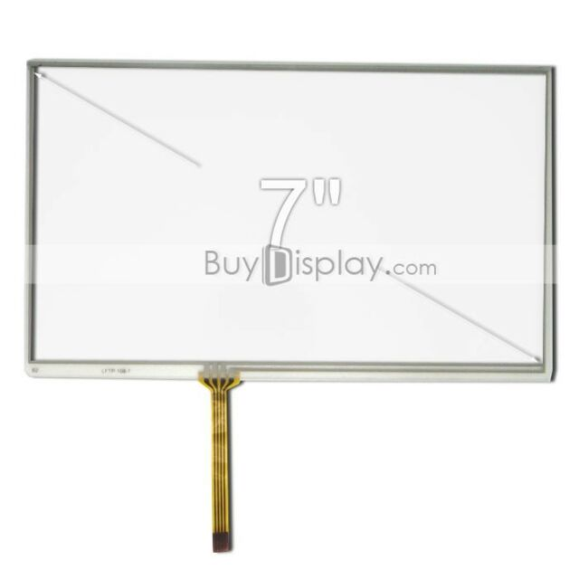 "Factory Outlet 7"" inch Resistive Touch Panel Screen with Free FPC Connector"