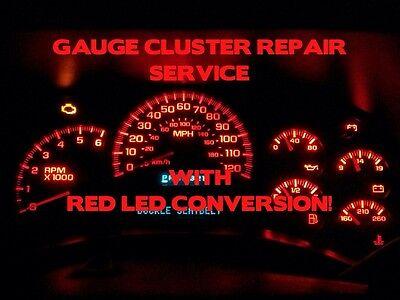 2003 silverado gauge cluster lights