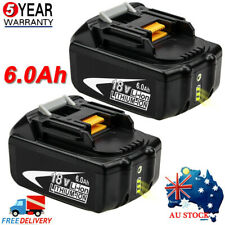 New For Makita 18V 6.0Ah BL1860B BL1850 BL1830 BL1860 BL1840B LXT Li-ion Battery