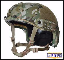 MC XLG Deluxe LVL IIIA High Cut Ballistic KEVLAR Bullet Proof Helmet DEVGRU SEAL