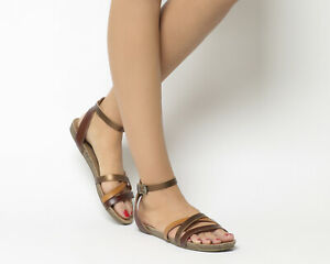 65108515e2c6b0 Image is loading Womens-Blowfish-Galie-Sandals-Whiskey-Multi-Sandals