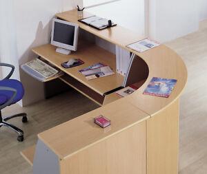 Reception desk counter in Elm new price includes vat - essex, Essex, United Kingdom - Reception desk counter in Elm new price includes vat - essex, Essex, United Kingdom