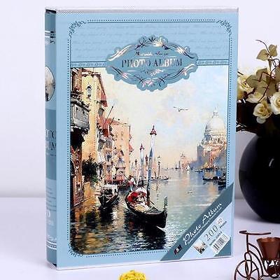 """The Water City"" 1pc Photo Picture Album 6'' Slip-In Album Beautiful Memory Book"