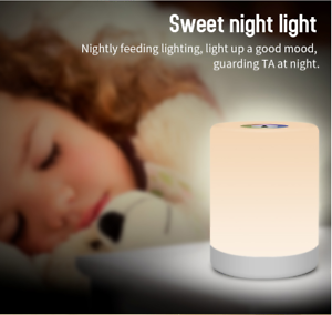 Portable-Bedside-Children-KIDS-Table-Lamp-RGB-LED-Colour-Changing-UK-STOCK