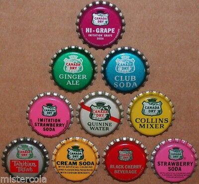ANTIQUE BOTTLE CAP TINLEY PARK ILL GINGER ALE  SODA POP CAP UNUSED RARE CAP !!