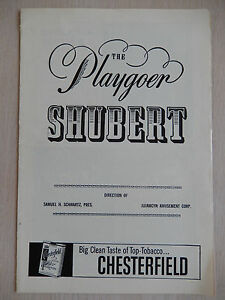 1959 - Shubert Theatre Playbill - Destry Rides Again - Andy Griffith