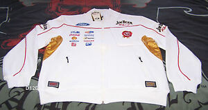 Jim-Beam-Racing-DJR-Ford-Mens-Warm-V8-Supercar-Zip-Fleece-Top-Size-L-New