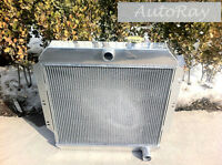 Brand Aluminum Radiator For Chevy/gm Pickup Truck Manual 60-62 3 Core 1961