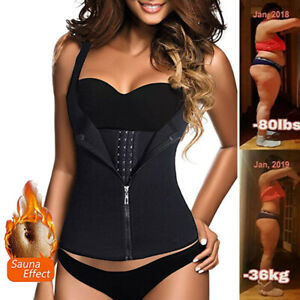 Fajas-Colombianas-Reductoras-Body-Shapers-Waist-Trainer-Tummy-Control-Belt-Vest