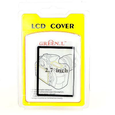 "2.7"" inch Plexiglas LCD Protector Screen Protective Cover"
