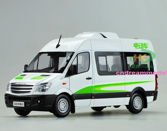 1 24 Higher pure electric commercial vehicles van die cast model