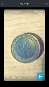 2007 2 pound coin 1807