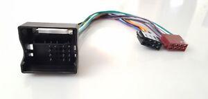 Quadlock-ISO-Adapter-Stecker-fuer-AUDI-SEAT-SKODA-VW-ab-2004-Radioadapter-Kabel