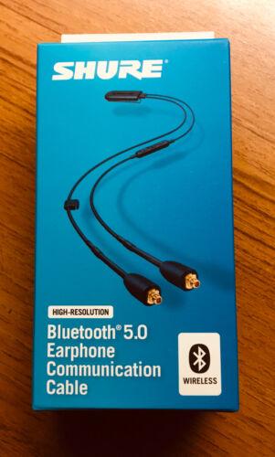 Shure RMCE-BT2 Bluetooth 5.0 Earphone Cable w// Remote Mic NIB !