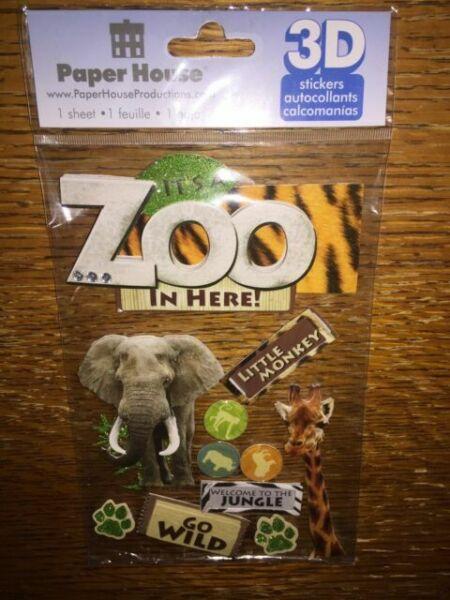 Sticker porthole trompe l/'oeil giraffe ref 1102 1102
