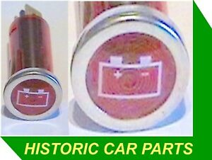 Ignition On Battery Warning Light Red Dashboard With
