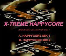 X-TREME HAPPYCORE VOL.1 - HAPPY HARDCORE DJ MIX CD 2007