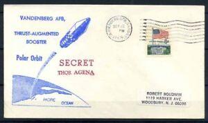 Stati-Uniti-1969-Mi-638-Busta-100-Segreto-Thor-Agena