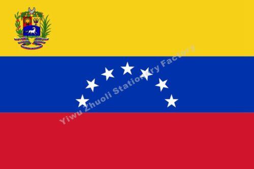 Venezuela Bolivarian Republic Flag 7 Stars 3X2FT 5X3FT 6X4FT 8X5FT 10X6 Banner