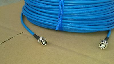 US MADE  Belden 1855A HD-SDI  Cable 4.5 GHZ  BNC Male to BNC Male  300FT