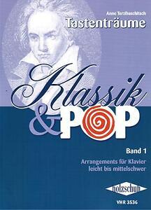 Klavier-Noten-Klassik-amp-Pop-Band-1-VHR-3536-leicht-leichte-Mittelstufe