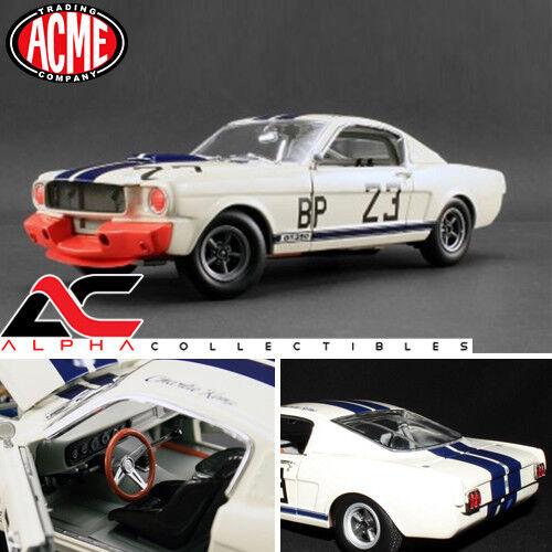 Acme a1801812 1,18 1965 ford shelby mustang gt350 r   23 charlie kemp ltd 996pcs