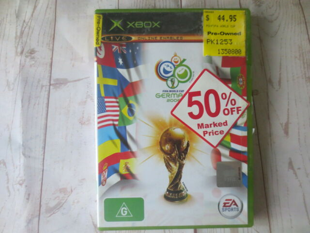 EA Sports Fifa World Cup Germany 2006 Xbox Game Complete With Manual