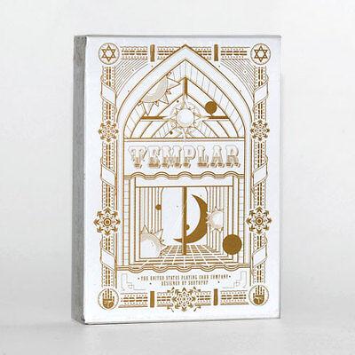 2019 Nuovo Stile Carte Da Gioco Templar Gold,poker Size