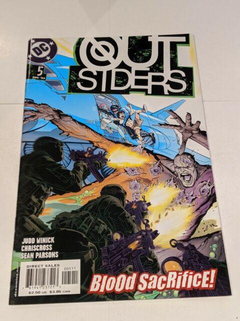The Outsiders #5 December 2003 DC Comics Winick Crisscross Parsons