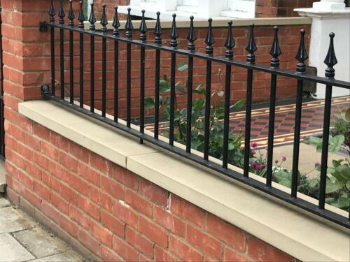 Metal fencing Low Wall Steel railings