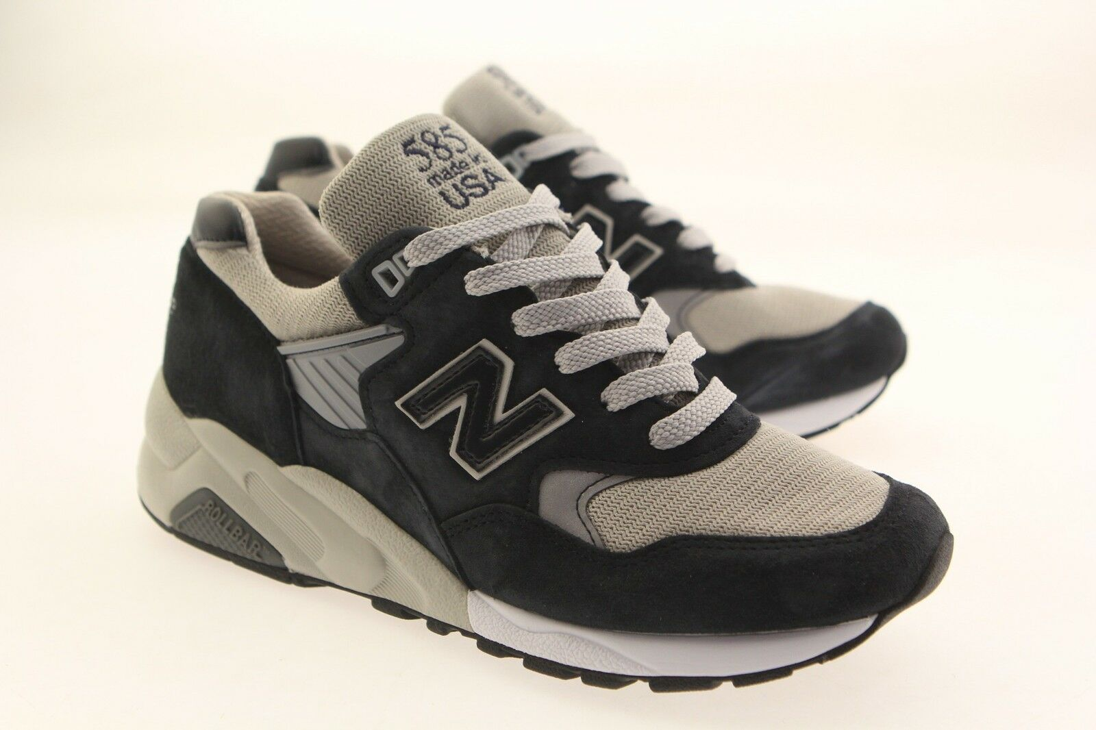 New Balance Men 585 Bringback M585BG - Made In USA navy grey M585BG
